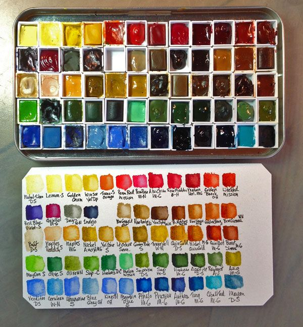 Perfect Watercolor Palettes For Home And Travel Art Full