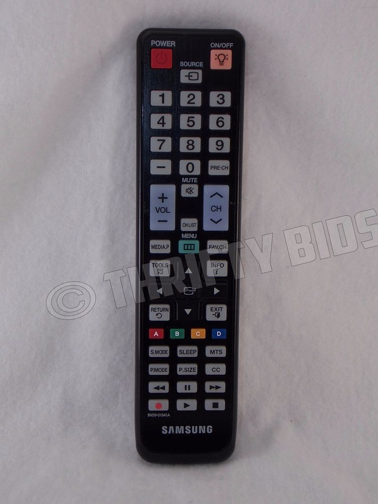 Genuine Samsung BN5901041A TV Remote Control LN32C550