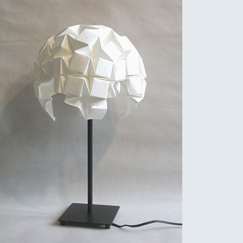 Origami lamp shade papierkunst pinterest origami con amor y papel origami lamp shade aloadofball Gallery