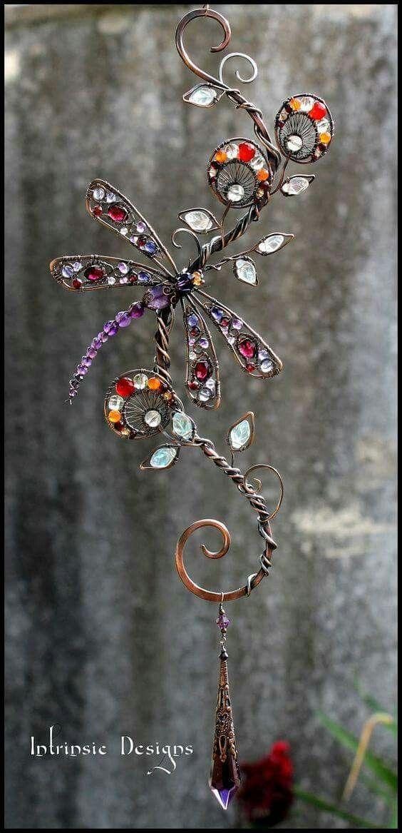 Pin von Jada Hughes auf Wire   Pinterest   Schmuck, Deko und Basteln