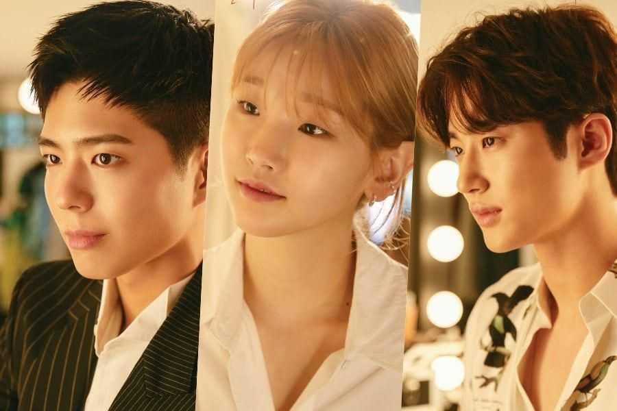 Park Bo Gum, Park So Dam, And Byun Woo Seok Chase Love And Dreams In New Posters For Upcoming tvN Drama