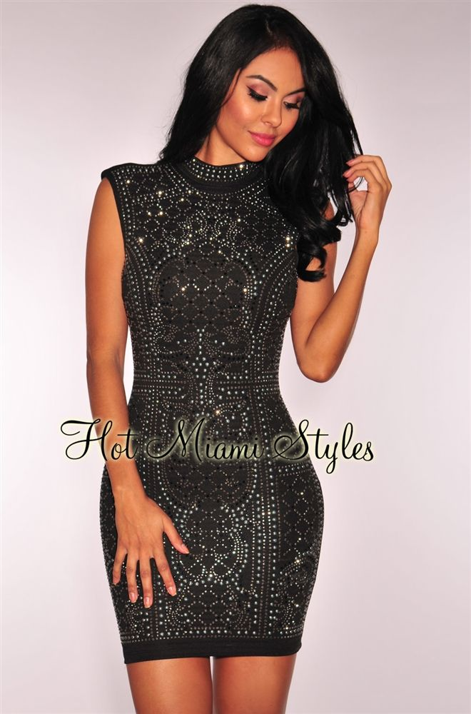 a4dc72dffd41 Black Red Blue Club New Sparkly Rhinestones Sexy Short Casual Dress |  Prom/Formal Dressed | Dresses, Black sparkly dress, Sequin party dress