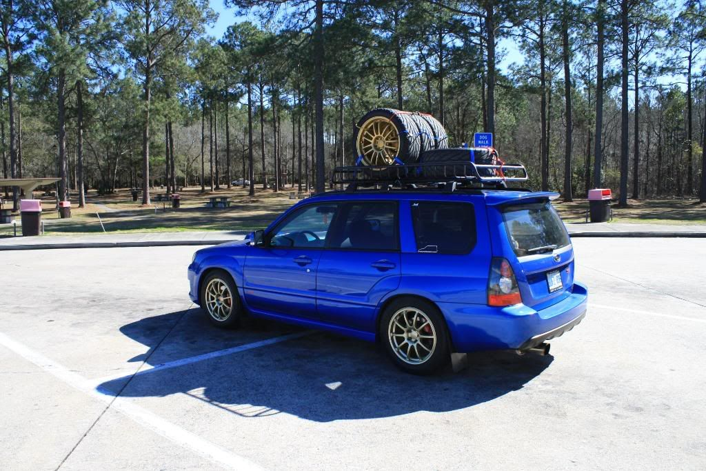 2004 Forester Painted Roof Rack   Google Search