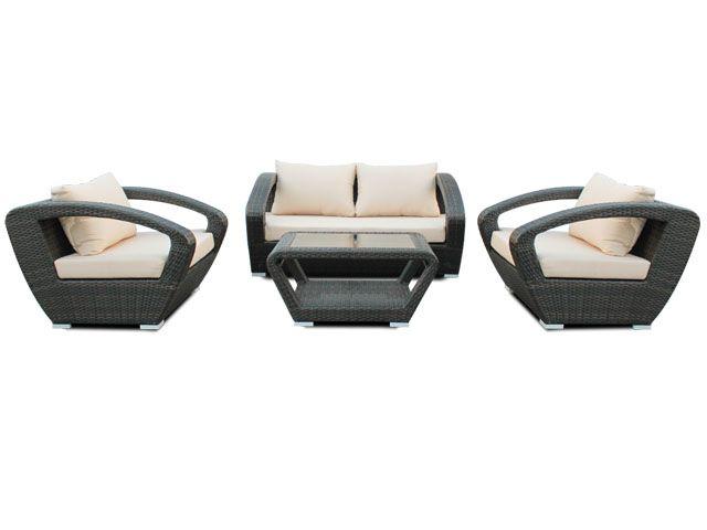 Raki Modern Conversation Set Conversation Set Cheap Wicker Furniture Wicker