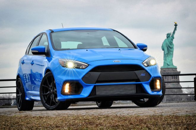 The 2016 Ford Focus Rs Gets An Advanced Torque Vectoring Awd