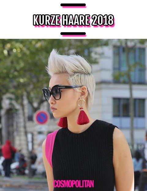Frisuren pink 2018
