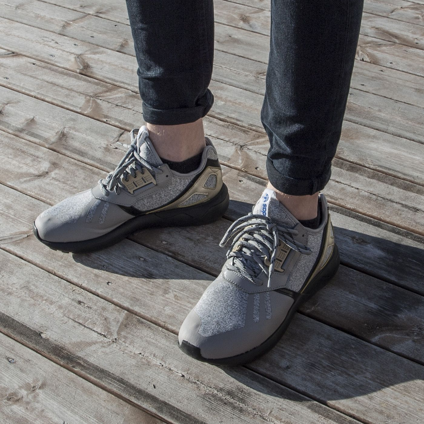 Light Gray Covers The adidas Tubular Radial