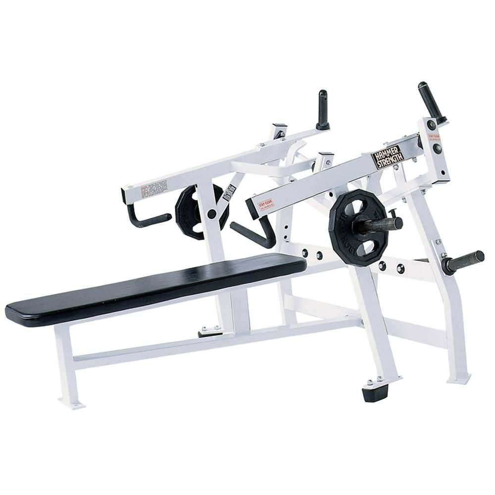 Hammer Strength Plate-Loaded Iso-Lateral Horizontal Bench