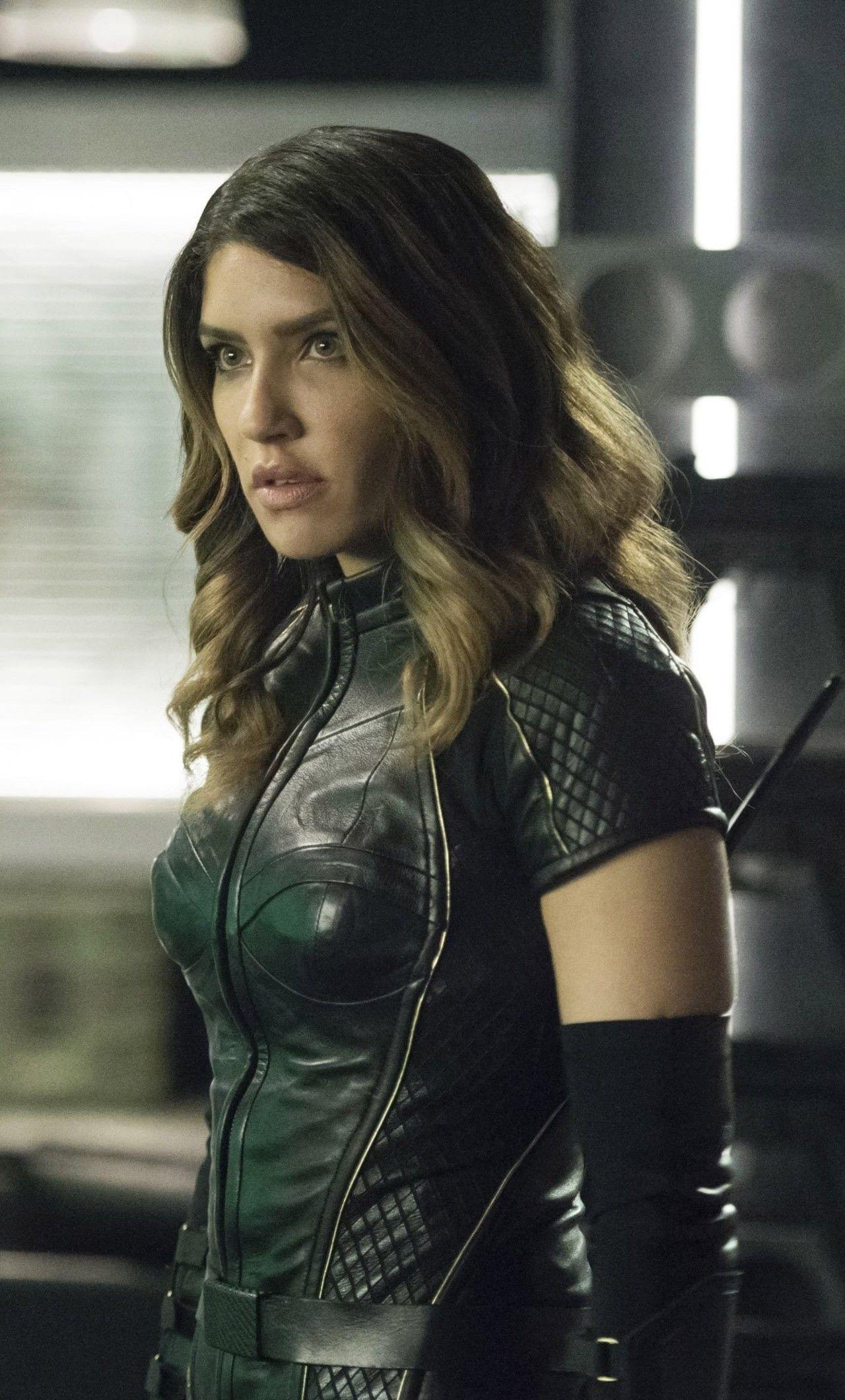 Juliana Harkavy As Dinah Drake In Arrow In 1280x2120 Resolution Dinah Drake Black Canary Arrow Black Canary