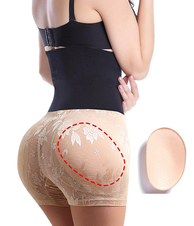 gotoly women apple bottom hip pads butt lifter short thigh slimmer