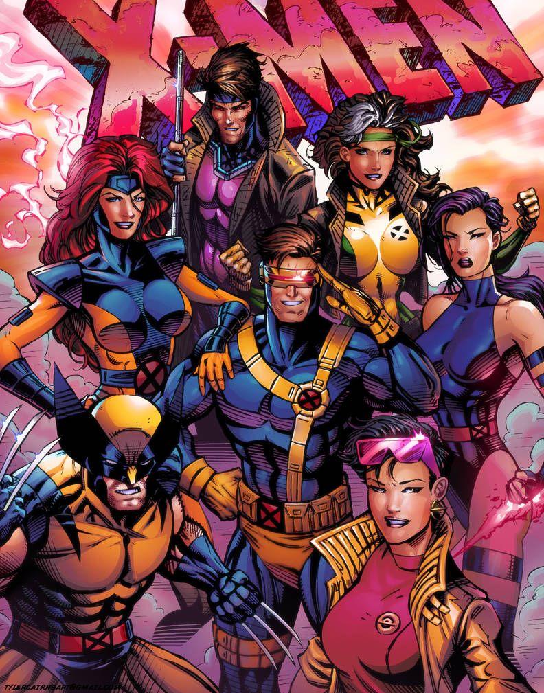 90 S X Men By Tylercairnsart Marvel Comics Art Xmen Art Comics