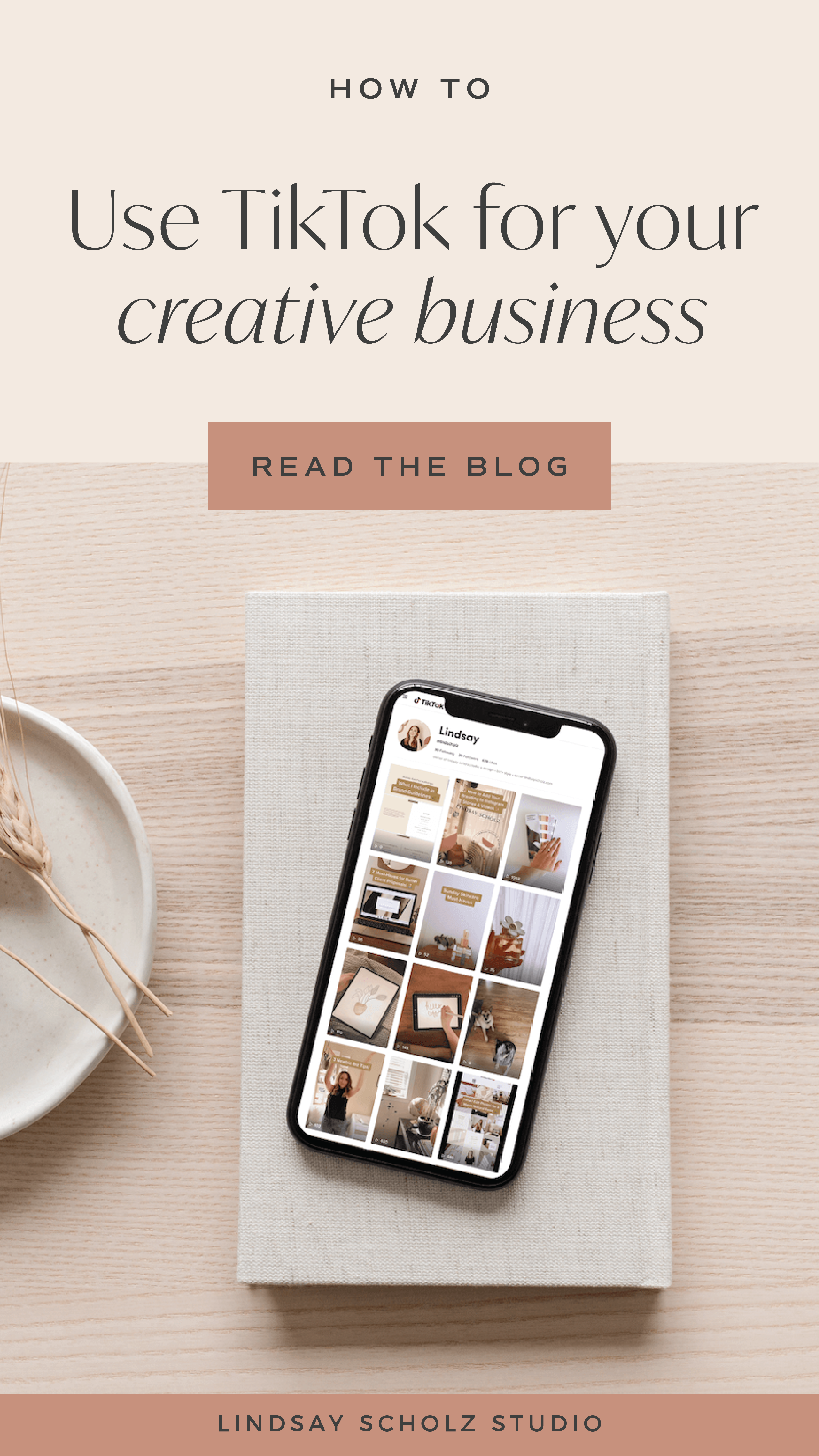 How To Use Tiktok For Business In 2020 Lindsay Scholz Studio Creative Studio For Woman Owned Businesses Small Business Ideas Diy Successful Business Tips Small Business Ideas Startups