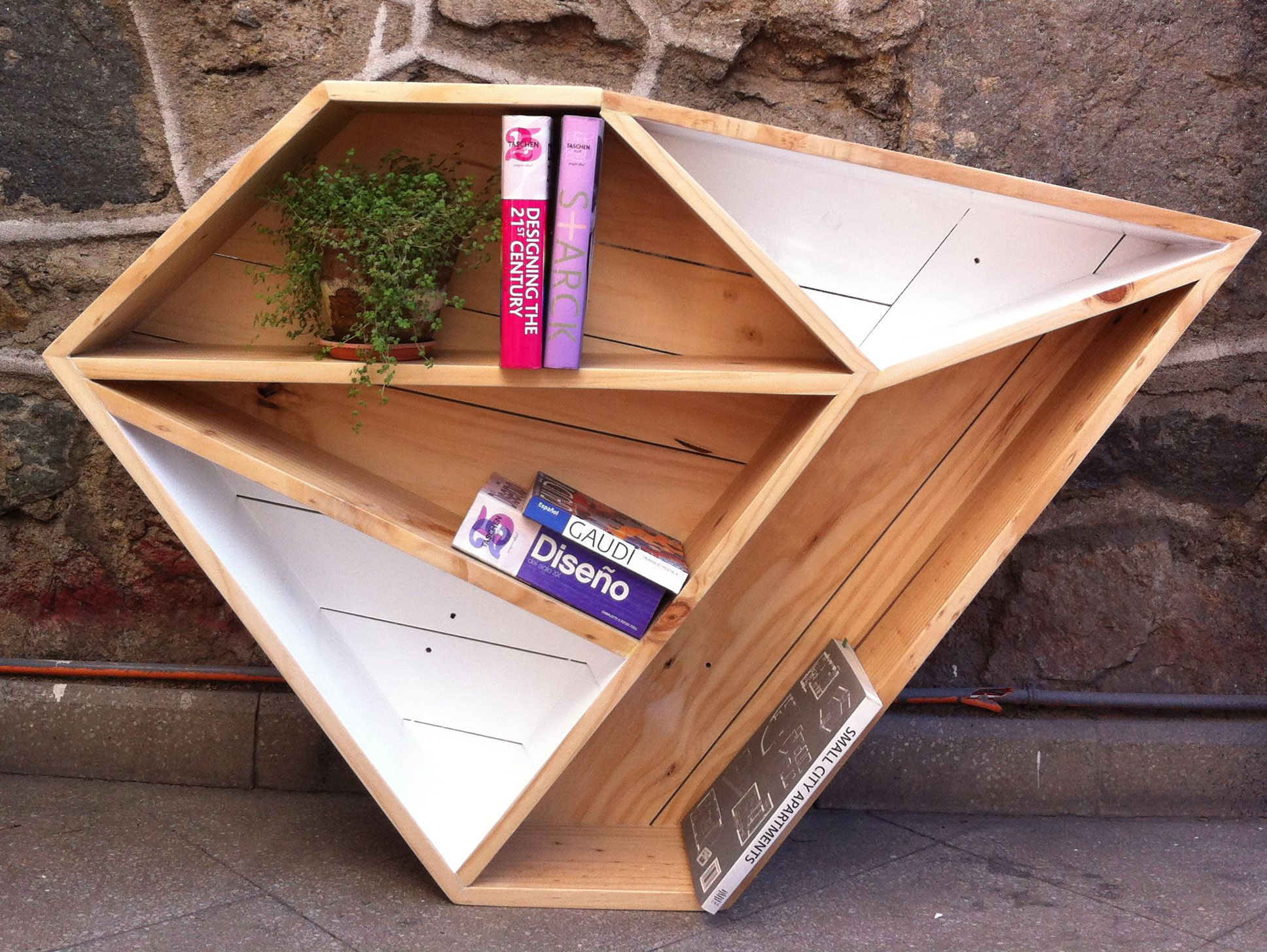 Mueble Con Figuras Geometricas Objetos Muebles Pinterest  # Muebles Geometricos