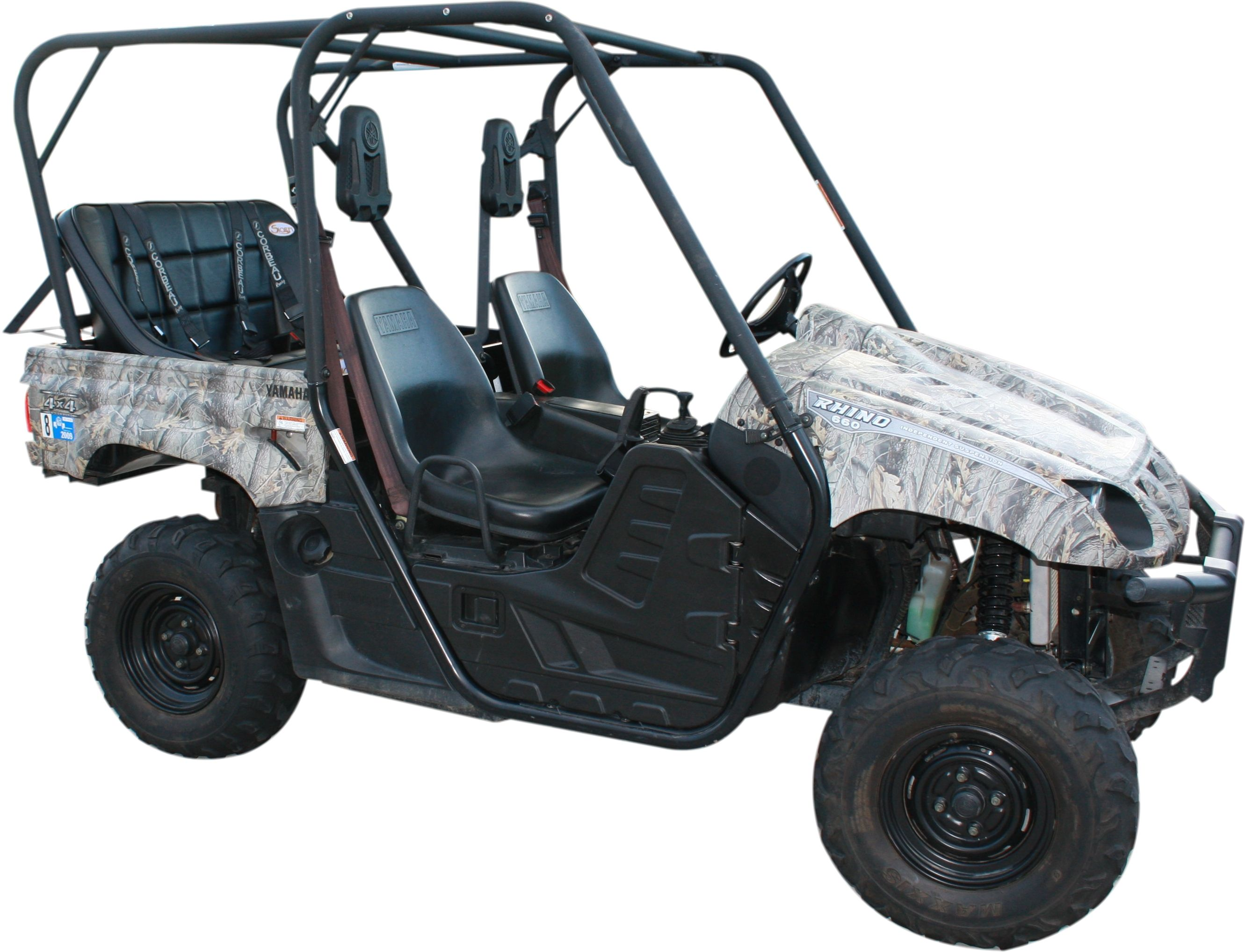 Yamaha rhino back seat and roll cage kit