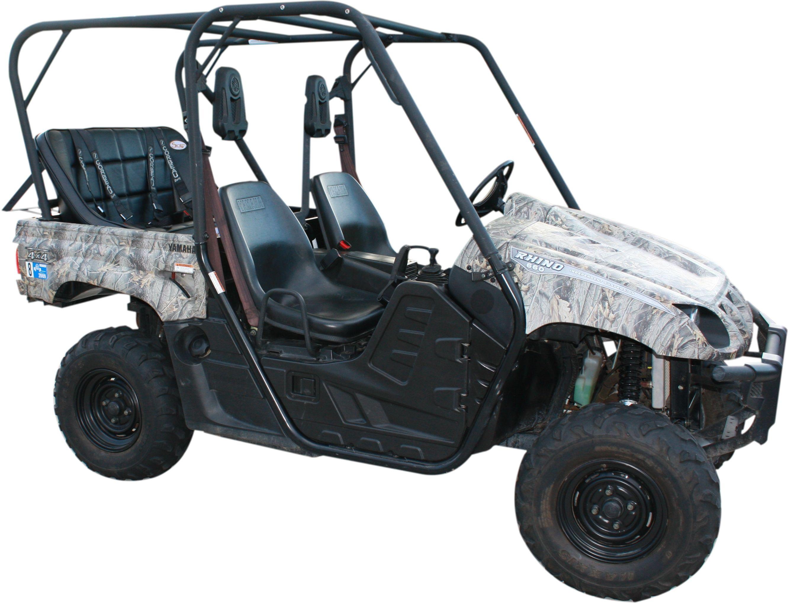 Yamaha rhino back seat and roll cage kit