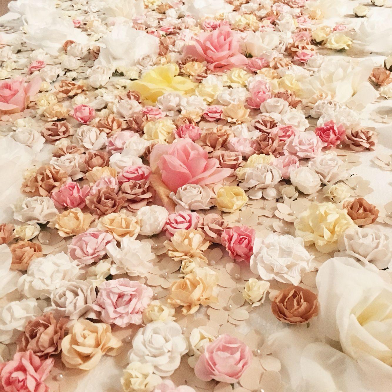 Diy Wall Flowers: DIY Flower Wall. I Made This Flower Wall Using Styrofoam