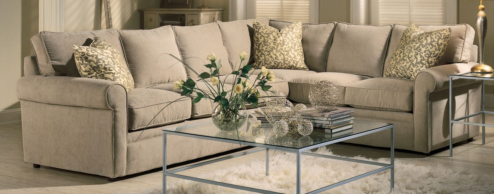 elegant letter furniture design. beautiful combination of sofas with a sheepskin rug in living room. elegant letter furniture design