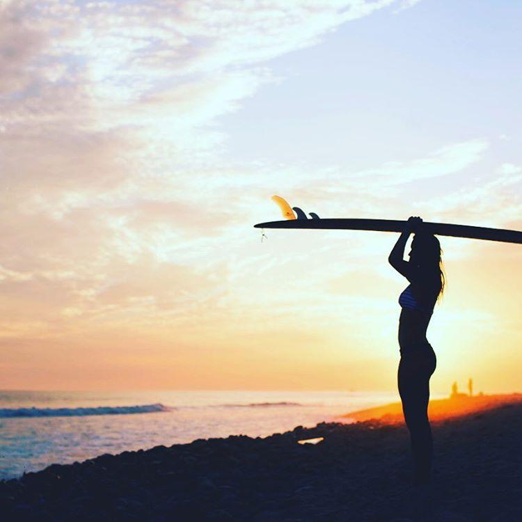 Surf girl...