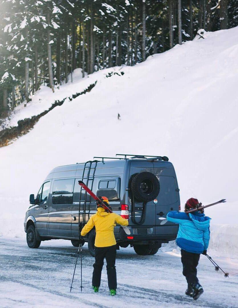 6 ways to heat your campervan in winter van life van
