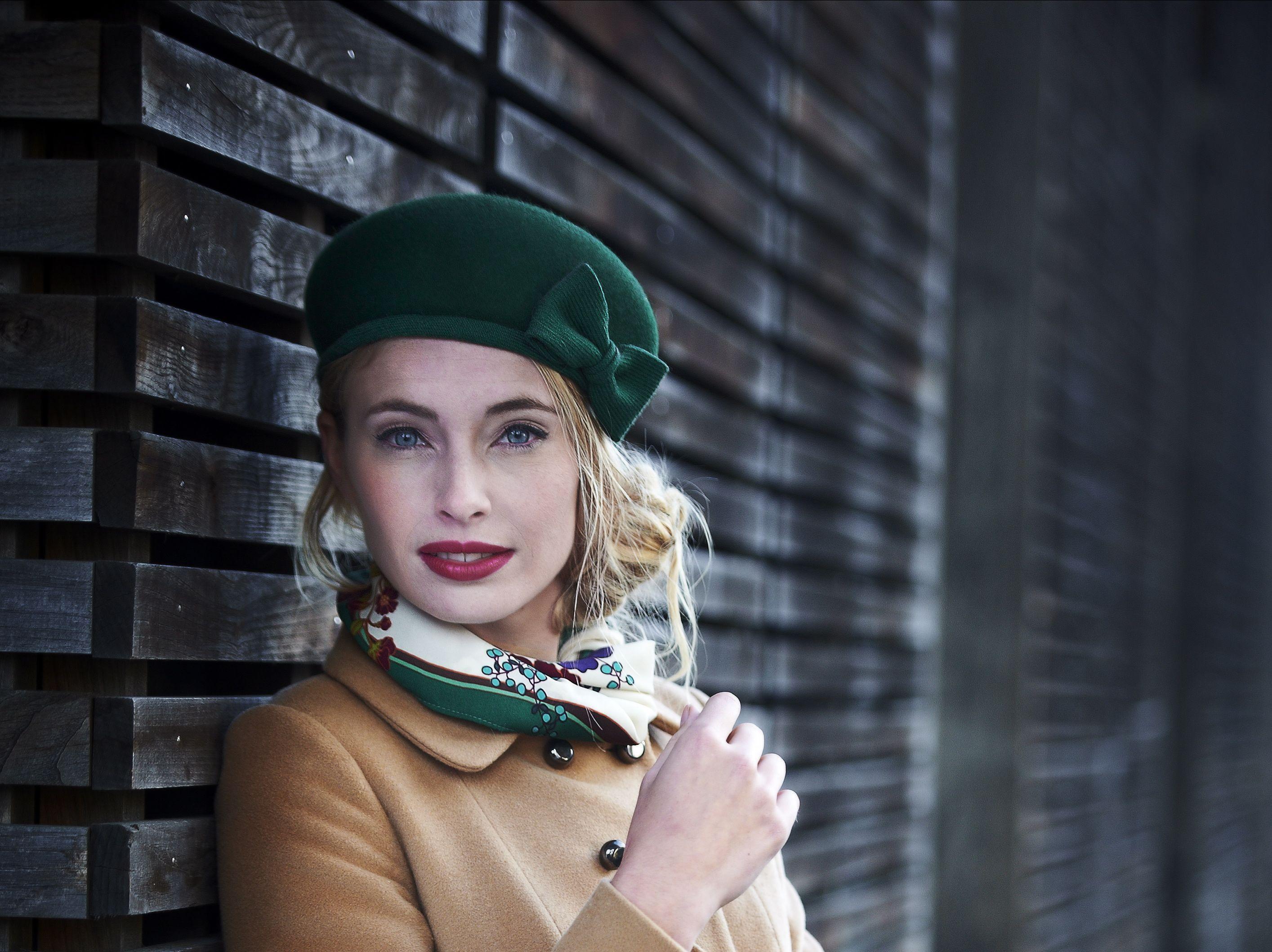 Adopter la french touch avec ce joli beret toque en feutre
