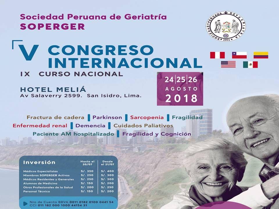 V Congreso Internacional De La Sociedad Peruana De Geriatría Central Informativa Del Adulto Mayor Memes Ecard Meme Ecards