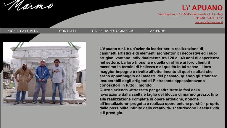 L'Apuano Scultura, Pietrasanta.