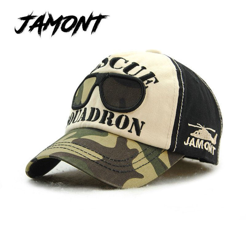 05fbcfb422a  JAMONT  Fashion Cotton Camouflage Baseball Caps For Children Patchwork  Snapback Hat For Boys Girls