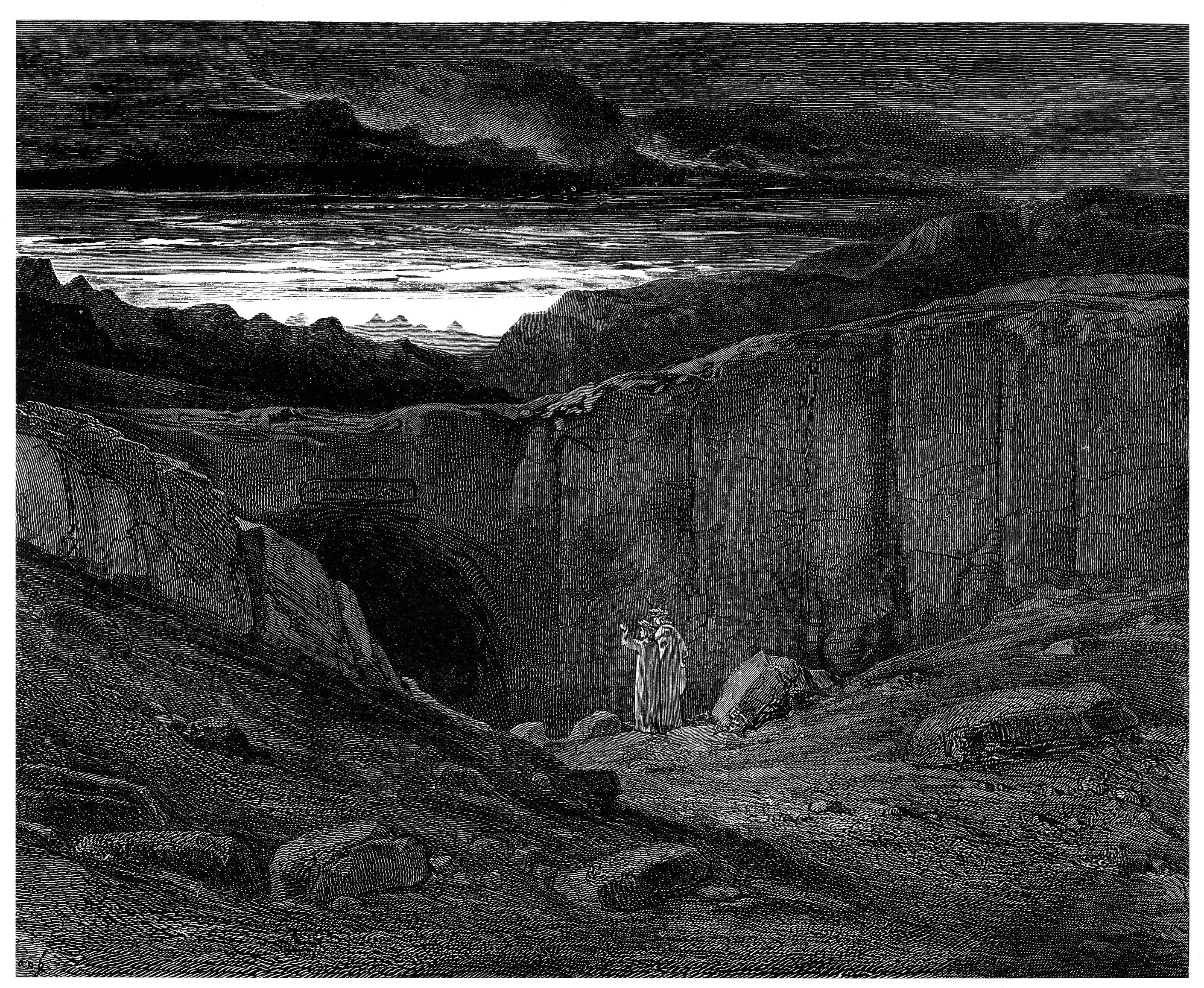 Image result for gustave dore inferno