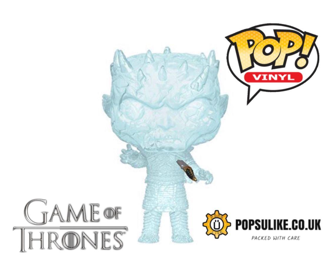 Funko Game of Thrones Crystal Night King with Dagger Glow Pop Vinyl Figure