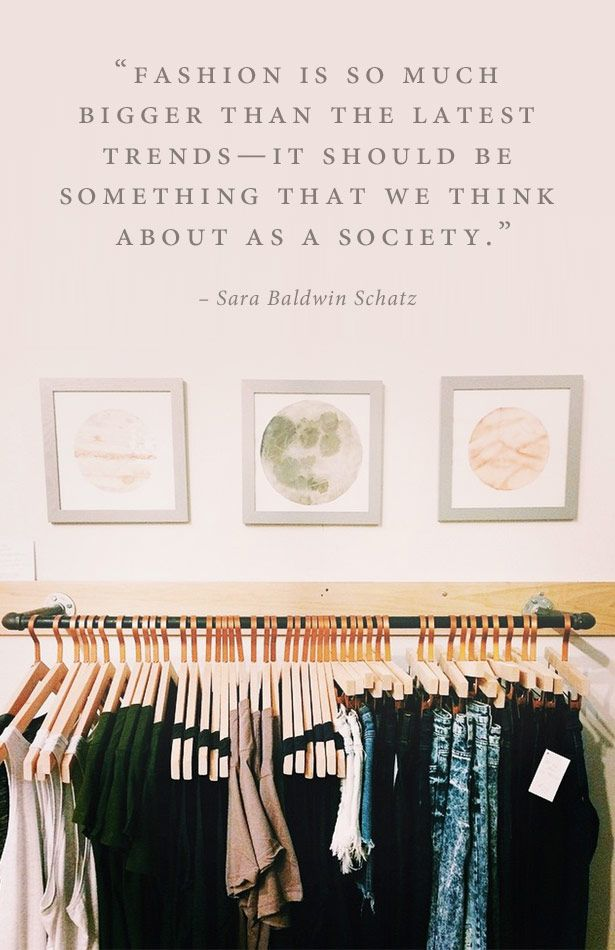 What S It Like To Run A Secondhand Shop Fashion Quotes Fashion Second Hand Clothes