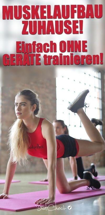 Eine Yogamatte ist alles, was du brauch um Zuhause trainieren zu können. Mit dem eigenen Körpergewic...
