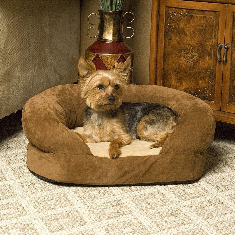 K H Pet Ortho Sleeper Oval Pet Bed 20 X 16 Dog Beds For Small Dogs Bolster Dog Bed Dog Bed Large