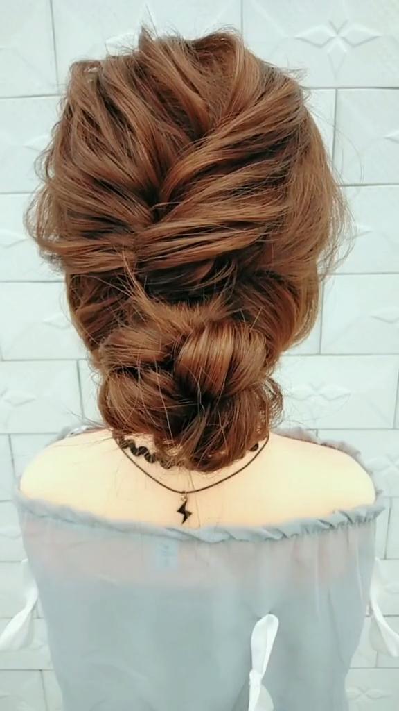 20 lindos peinados en capas y cortes para cabello largo en 2019 peinados trenzados vid …