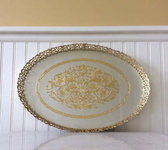 Florentine Tray In 2020 With Images French Country Decorating Vintage Italian Decorative Tray