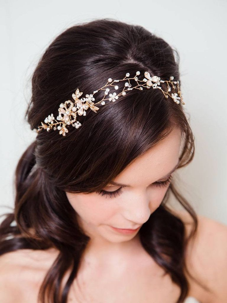 davie & chiyo   vancouver wedding accessory designer   gold