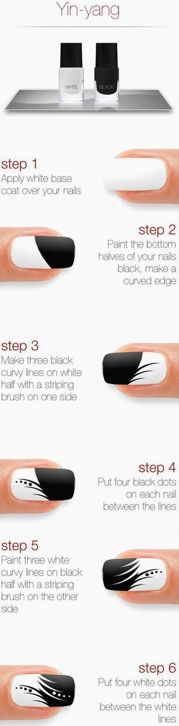 101 Easy Nail Art Ideas and Designs for Beginners | Easy nail art ...