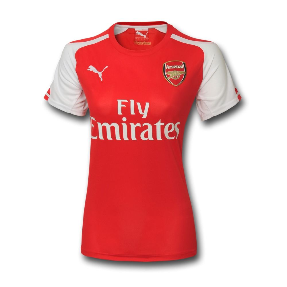 4844876e2 Arsenal Women Jersey 2014-2015 Grade Ori Size S - L The 2014 15 Arsenal  Stadium Women s Soccer Jersey is made with sweat-wicking fabric for  lightweight ...