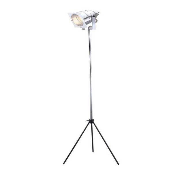 Floor lamp with spotlight design