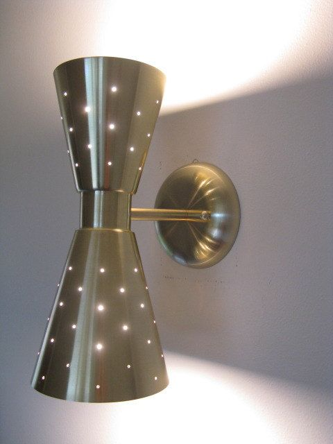Mid Century Modern Double Cone Wall Sconce Wall Lamp
