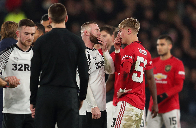 Wayne Rooney Enjoys Chat With Boyhood Man Utd Fan Brandon Williams Who Grew Up Watching Club Legend In 2020 Wayne Rooney Brandon Williams Manchester United Fans
