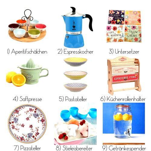 Wunschliste für die neue Küche