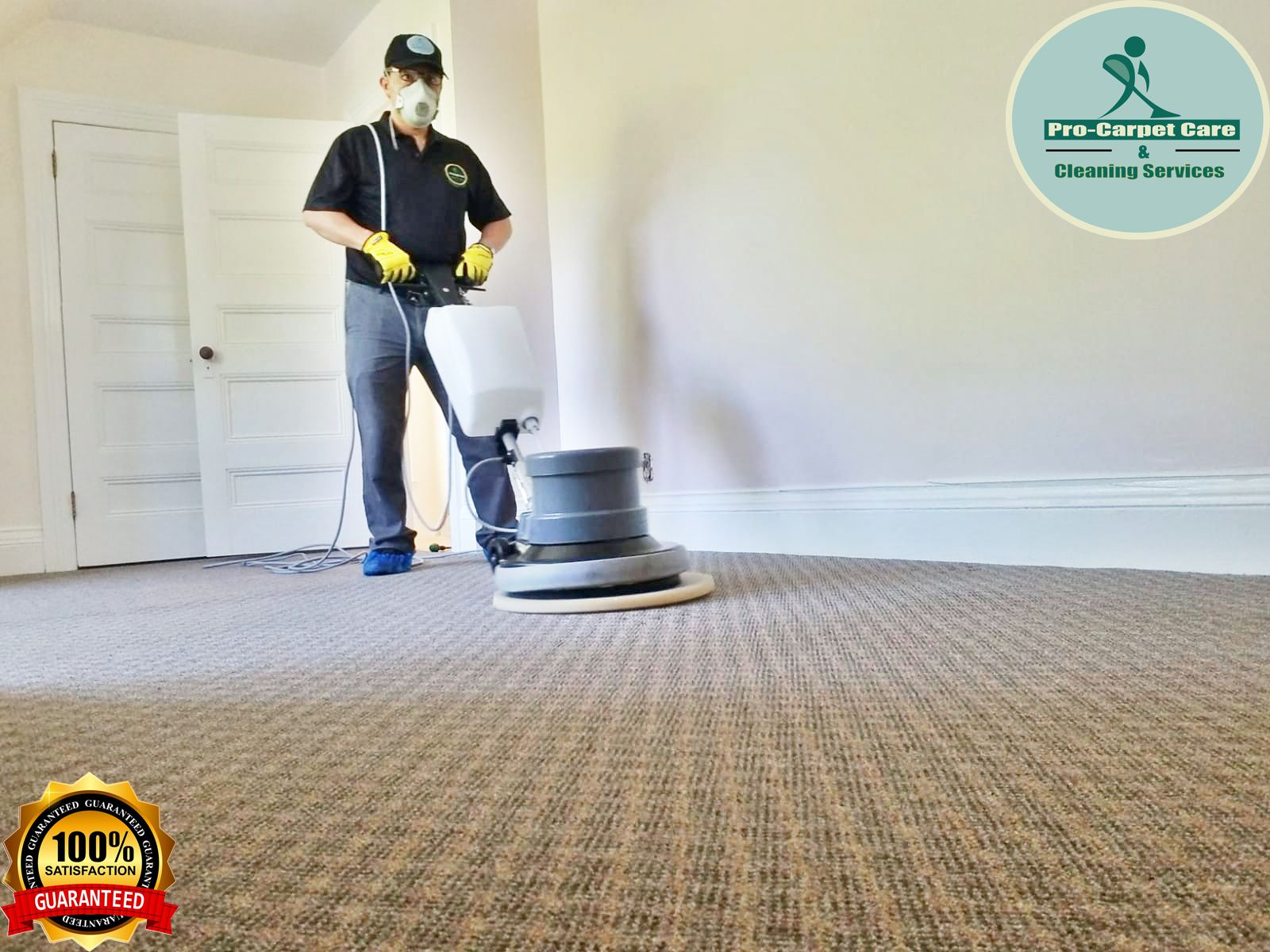 Steam Carpet With Bonnet Pads In 2020 How To Clean Carpet Carpet Steam Carpet Care
