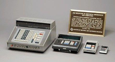 Sharp's early desktop calculator