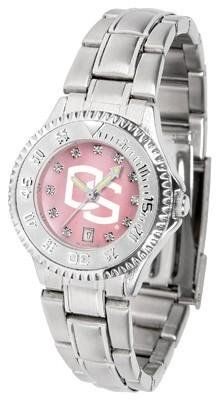 Oregon State Beavers Ladies Watch Mother-of-Pearl Face by SunTime. $94.95. Links Make Watch Adjustable. Officially Licensed Oregon State Beavers Ladies Stainless Stell Watch. Mother-of-Pearl and Crystal Face. Stainless Steel Band. Women. Oregon State Beavers Ladies Watch Mother-of-Pearl Face This Beavers watch has a functional rotating bezel that is color-coordinated to compliment your favorite team logo. The Competitor Steel utilizes an attractive and secure stainless steel ...