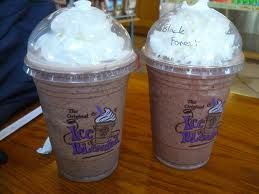 The Black Forest Ice Blended From Coffee Bean Tea Leaf Is Such A Guilty Pleasure Ice Coffee Recipe Coffee Beans Tea Leaves