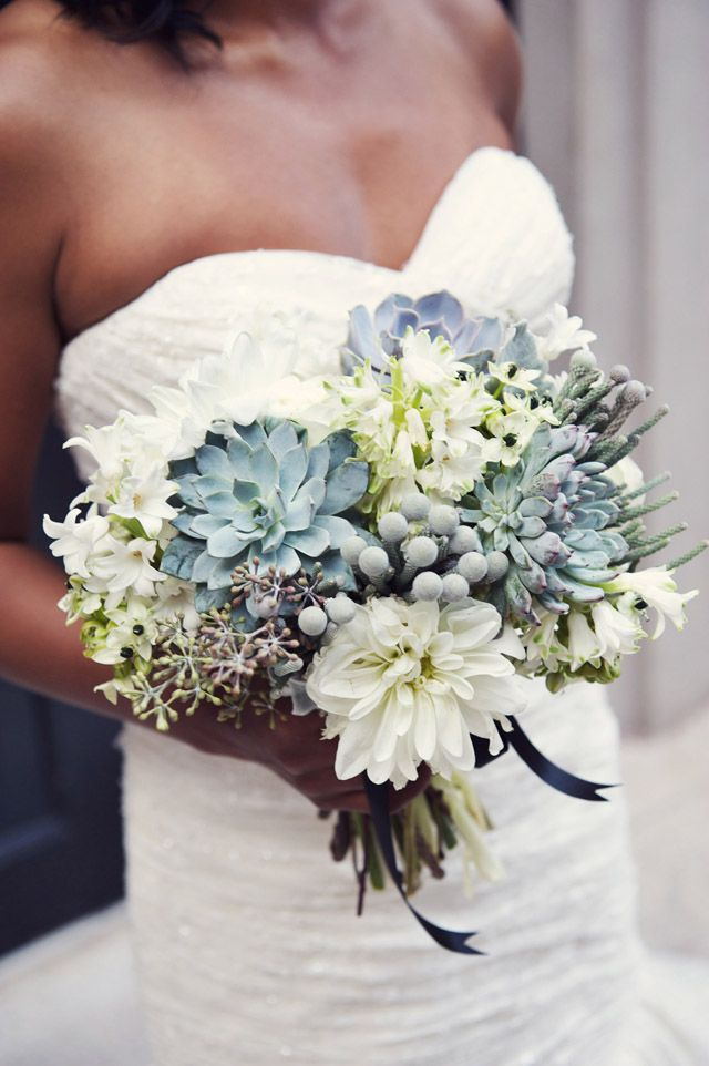 f8bf5fd922 Sweet W Style Succulent bouquet by sweet woodruff | Love & Marriage ...