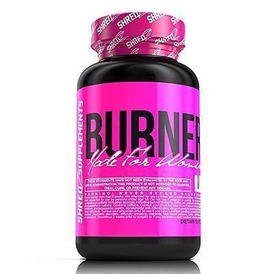 SHREDZ for Her: Weight Loss Pills Lean Fat Burner Metabolism Booster Suppresent