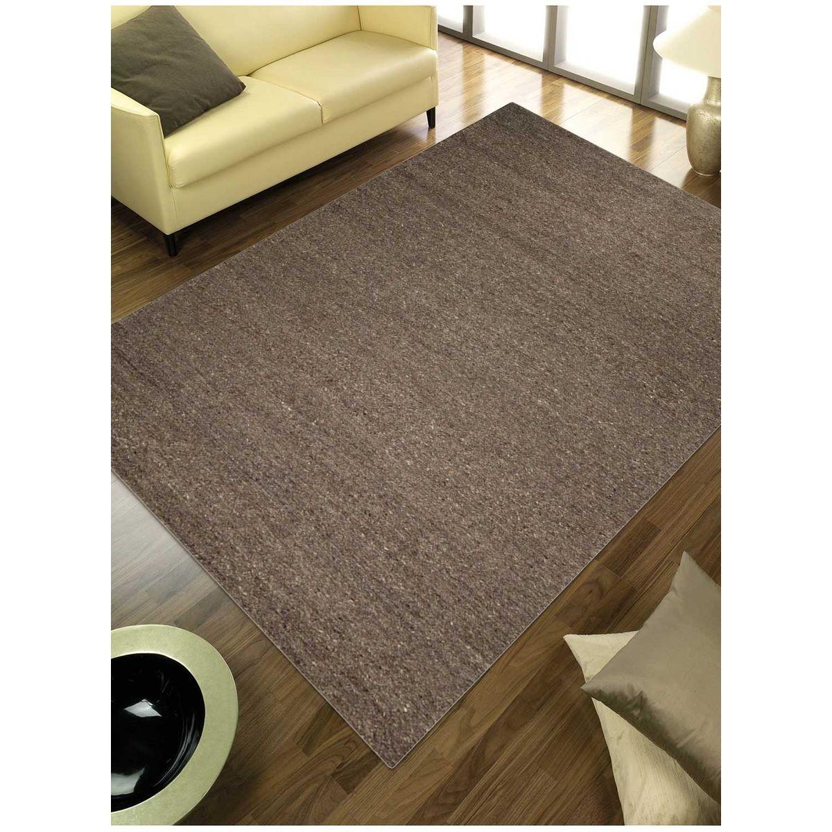 Tapis Salon Couleur Rouille tapis de salon tapis moderne design look 406 ivoire - laine