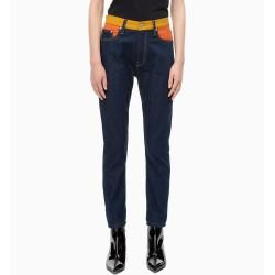 Calvin Klein Ckj 020 High Rise Slim Jeans im Blockfarben-Design 3234 Calvin Klein – cute outfits