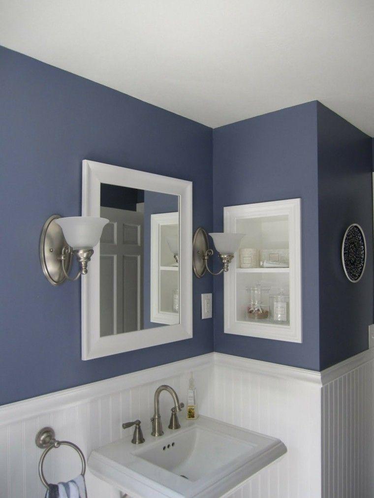 Baños de color - los tonos ideales para el cuarto de baño ...